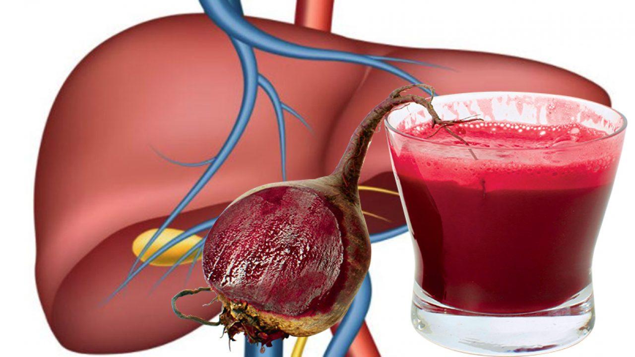 sucul de sfecla rosie pentru ficat)
