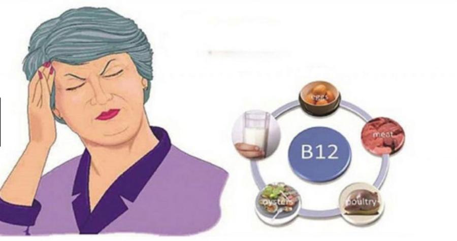 9 Semne si simptome ale deficienței de vitamina B12 și cum ne afectează organismul!