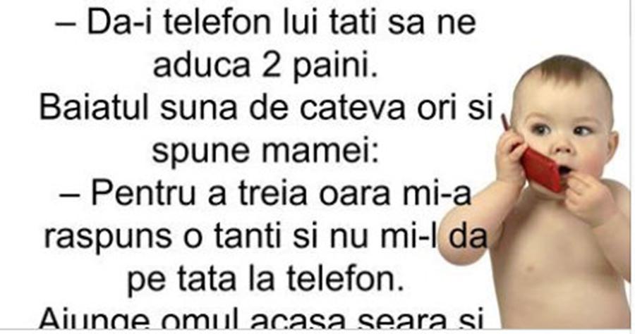 Alo, tata?