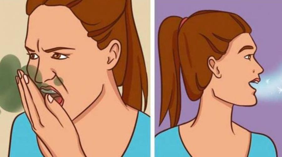 Scapa de respiratia urat mirositoare cu un remediu natural