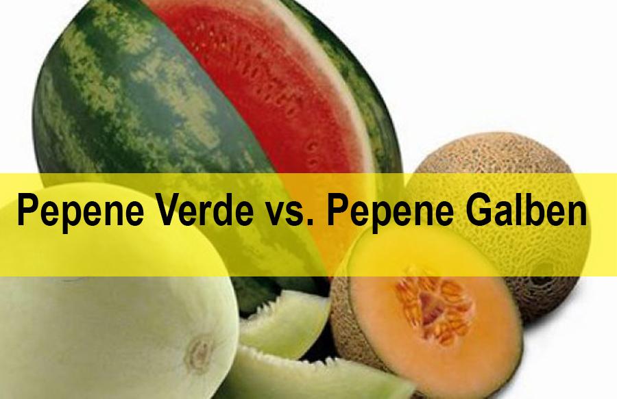 Pepene verde sau galben – care e mai sănătos?