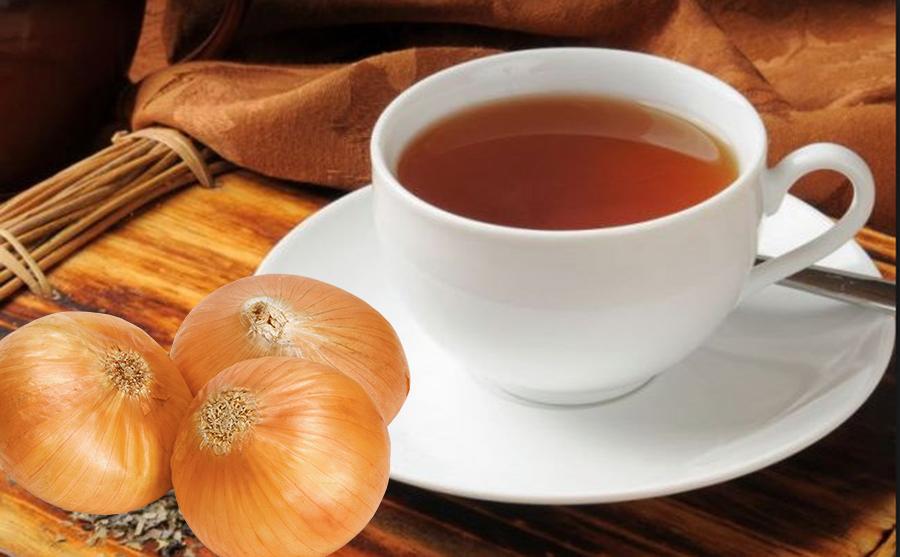 Tusea trece cu ceai de ceapă