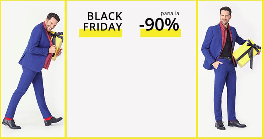 Black Friday Ultimele Ore – reduceri de pana la 90% la articolele pentru barbati