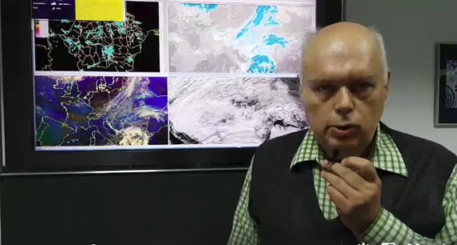Ploi, lapoviță și ninsoare în aproape toată țară. Două cicloane se vor întâlni, în acest weekend deasupra României