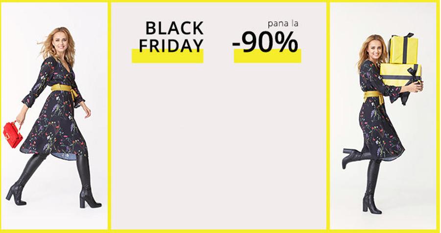 Black Friday Ultimele Ore – reduceri de pana la 90% la articolele pentru femei