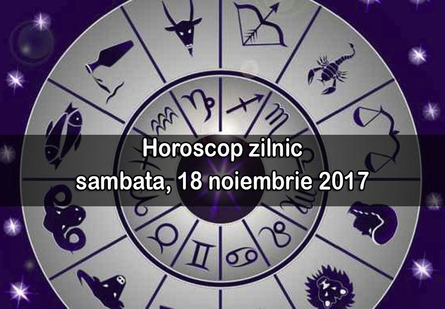 Horoscop, sâmbătă, 18 noiembrie 2017. Racii primesc solicitări de la cei dragi și contează mult cum vor reacționa. Au o zi intensă