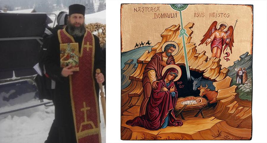 Credinta: De ce umbla preotul cu icoana inaintea Craciunului