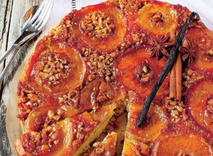 Prăjitură răsturnată cu mere- un deliciu care trebuie degustat…cât mai des