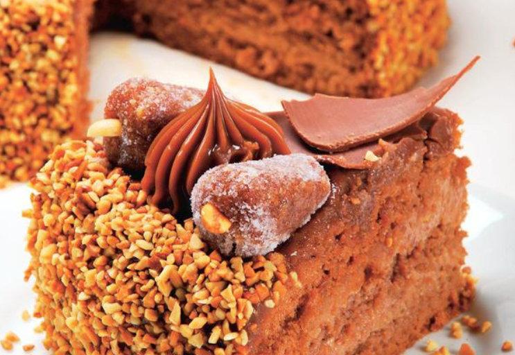 Tort cu arahide