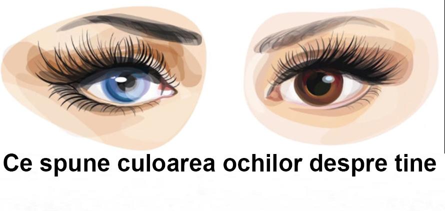 Ce spune culoarea ochilor despre tine si personalitatea ta.