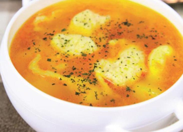 Mereu m-am ferit de supa cu găluște, tocmai pentru ca ieseau cand tari, cand prea moi. Acum am descoperit secretul:pentru găluște și mai pufoase ai grijă ca toate ingredientele să fie la temperatura camerei.