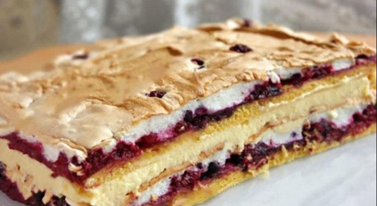 """Tort """"Pani Walewska"""", un desert pe care nu vrei sa-l imparti cu nimeni"""