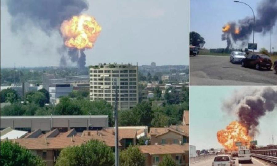 Explozie pe o autostradă din Italia. Sunt cel puțin 60 de răniți și 2 morți. Precizări MAE