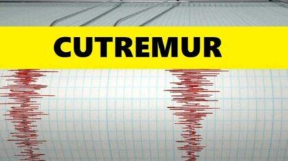 Cutremur mediu in Romania acum...
