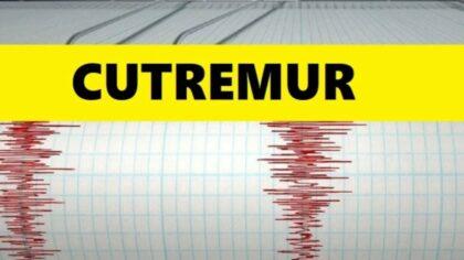 Doua cutremure in Romania. Unul...