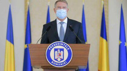 Klaus Iohannis, mesaj de ultim...